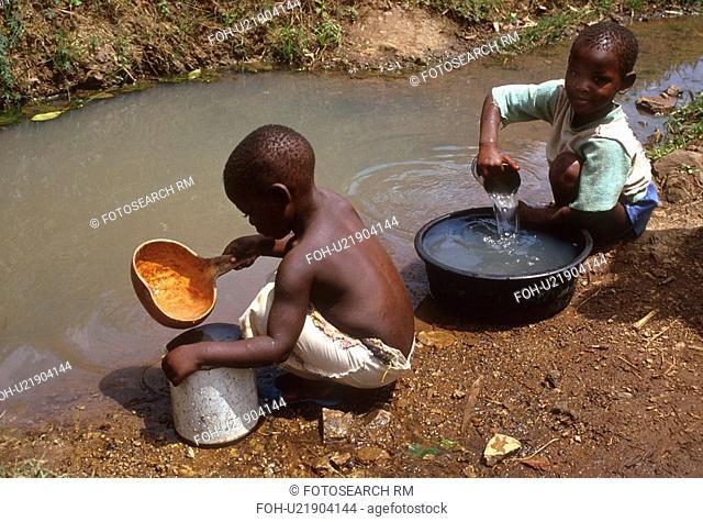 kenya, people, 4231, children, person, water