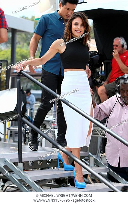 Bethany Frankel seen at Universal studios where she was interviewed by Mario Lopez for television show Extra Featuring: Bethany Frankel Where: Los Angeles