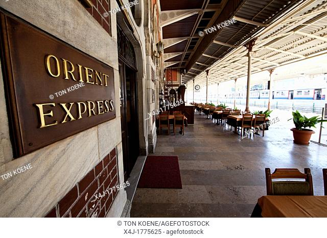 orient express train station, istanbul