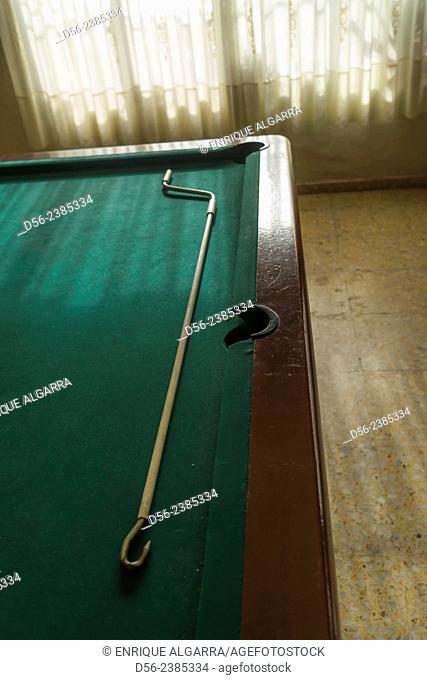 pool table, Valencia, Spain