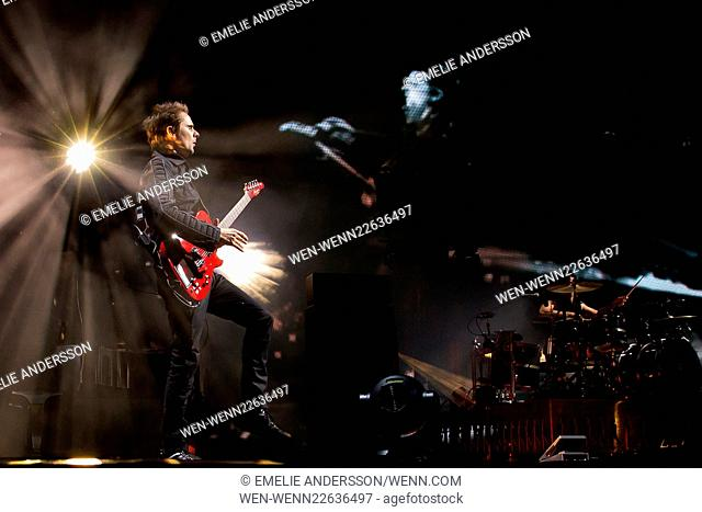 Muse performing live at the Bravalla Festival Featuring: Muse Where: Norrkoping, Sweden When: 26 Jun 2015 Credit: Emelie Andersson/WENN.com