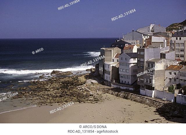 Malpica Costa da Morte Galicia Spain
