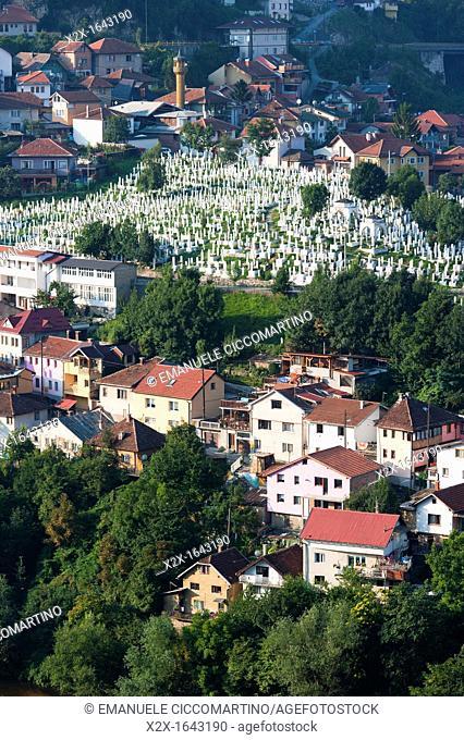 City of Sarajevo, capital of Bosnia and Herzegovina, Europe