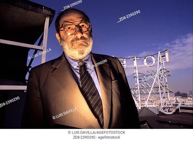 umberto eco. italian writer