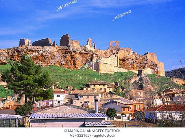 Overview. Zorita de los Canes, Guadalajara province, Castilla La Mancha, Spain