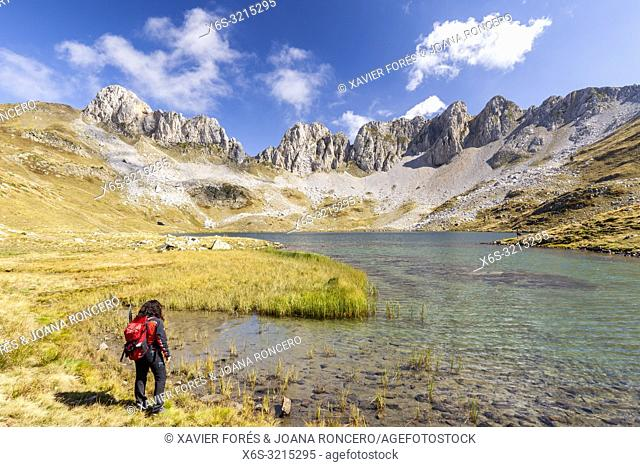 Ibon de Acherito - Acherito lake, Valle de Hecho, Huesca, Spain