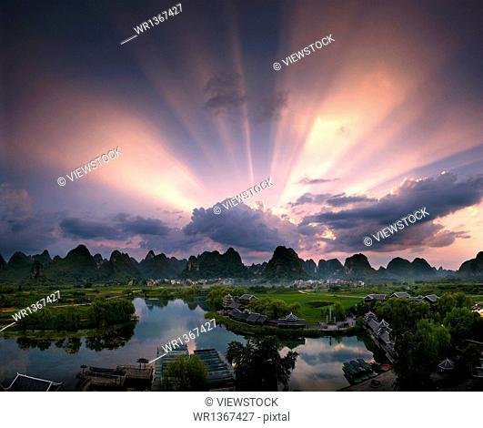 Guilin, Yangshuo scenery
