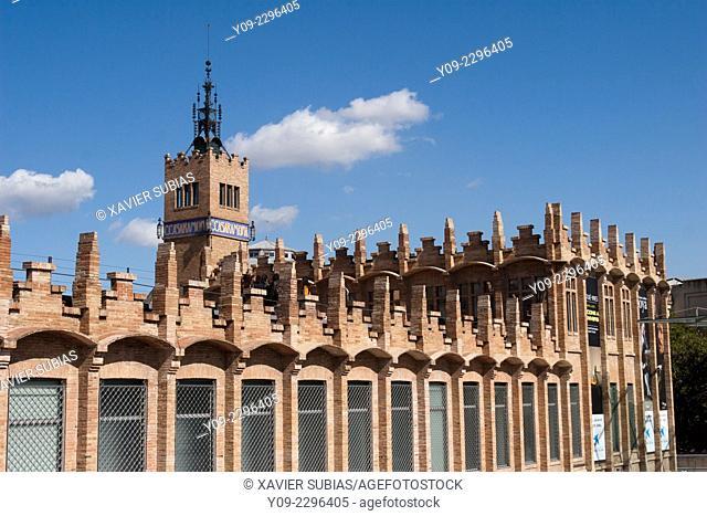 Caixa Forum, Montjuic, Barcelona, Catalonia, Spain