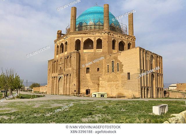 Dome of Soltaniyeh, 1313, Soltaniyeh, Abhar County, Zanjan Province, Iran