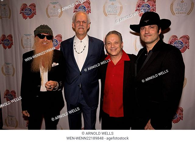 Feed the Peace Awards at the Four Seasons Austin honoring Kyle Chandler and Steven Van Zandt Featuring: Billy Gibbons, Turk Pipkin, Jimmie Vaughan