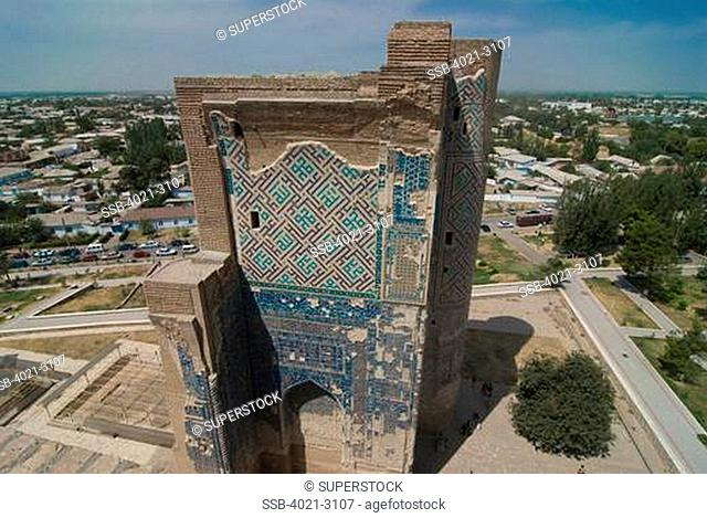 Uzbekistan, Shakhrisabz, Ak-Saray Palace