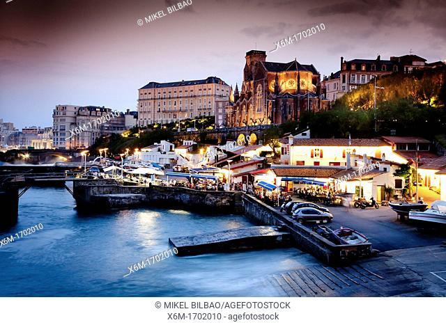 Harbour Biarritz Pyrénées-Atlantiques, France