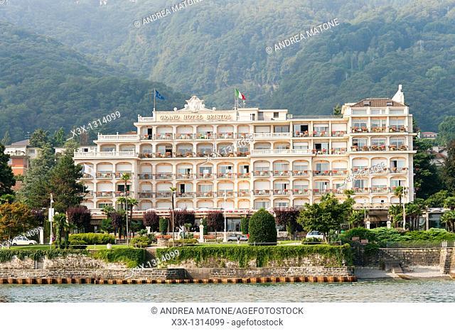 Grand Hotel Bristol town of Stresa Lago Maggiore Italy