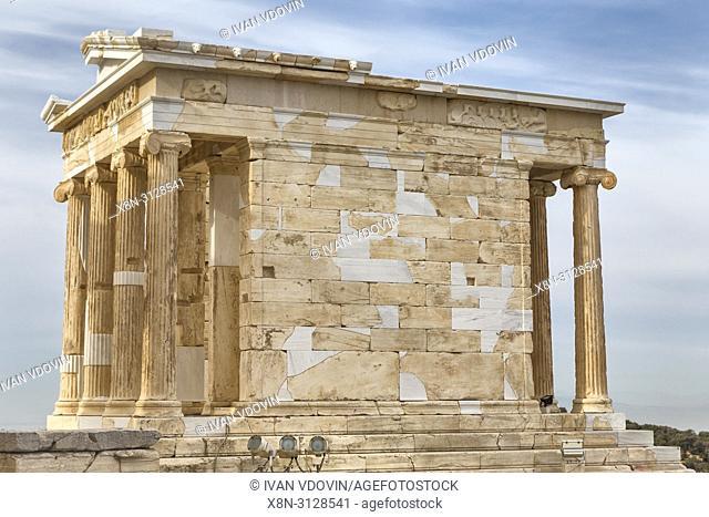 Temple of Athena Nike, Nika Apteros (420 BC), Athens, Greece
