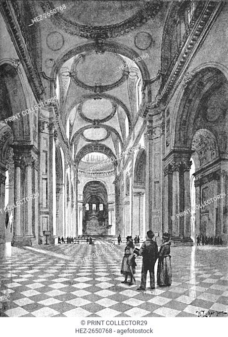 'St. Paul's Cathedral', 1891. Artist: William Luker
