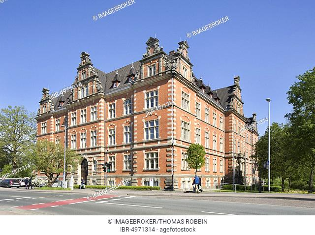 Government building, former district government of the province of Hanover, today state authority building, Stade, Lower Saxony, Germany, Europe
