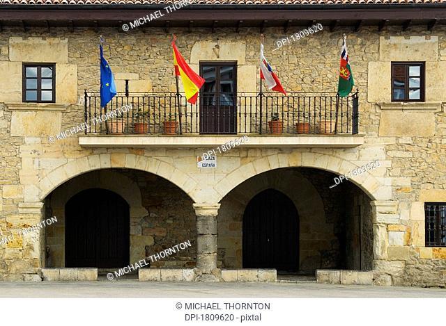 Escalante Town Hall, Cantabria, Spain