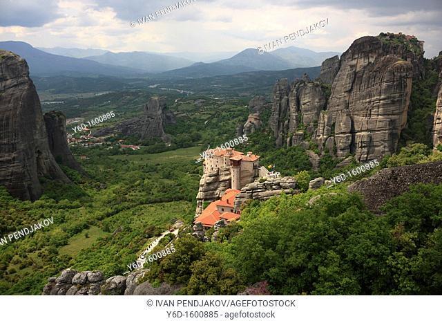 The Holy Monastery of Rousanou, Meteora, Greece