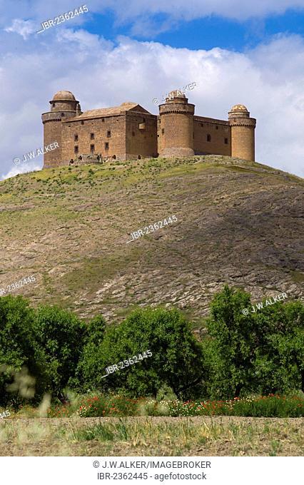 Castillo de La Calahorra castle, La Calahorra, Granada province, Andalusia, Spain, Europe