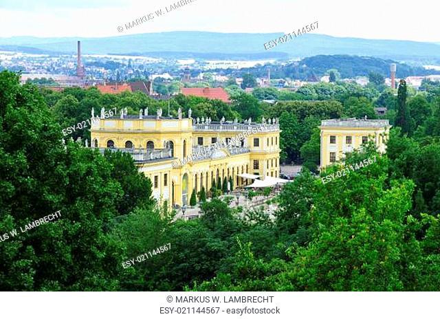 Kassel Karlsaue mit Orangerie