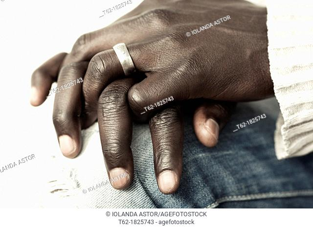 Black hands  Colour  Horizontal