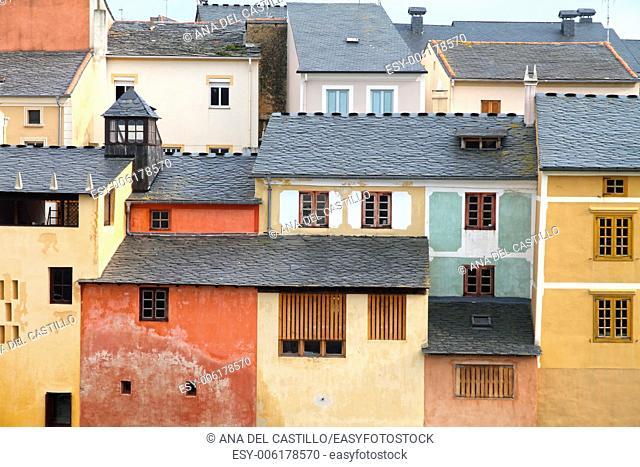 Rinlo village, Atlantic coast. Lugo. Galicia. Spain