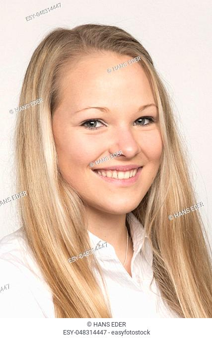Young people need a application photo when looking for a job