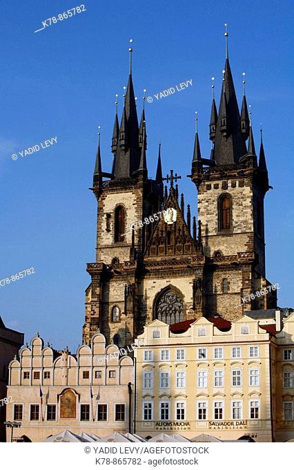 Tyn Church, Stare Mesto, Prague, Czech Republic