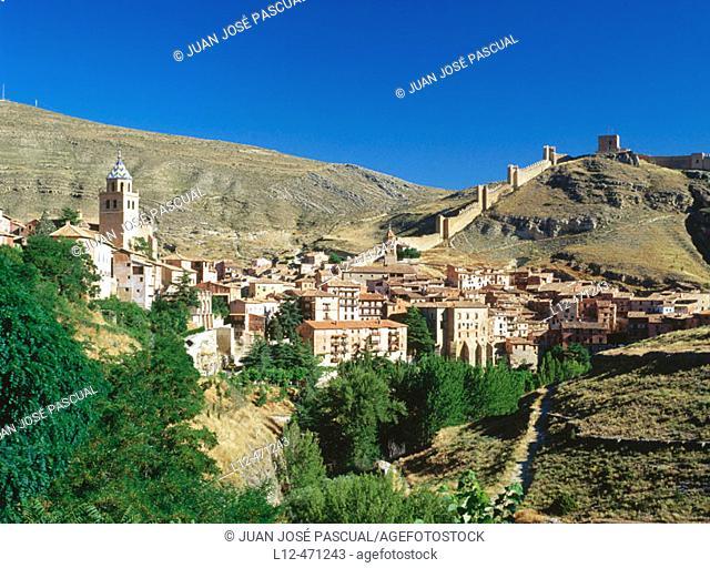 Albarracín. Teruel province, Aragón, Spain