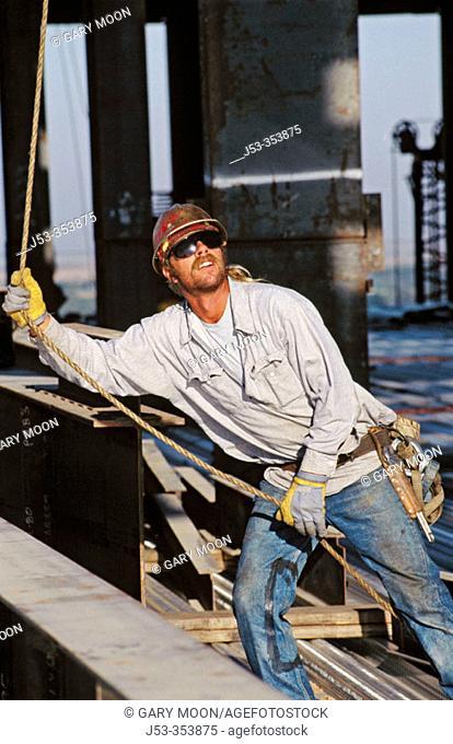 Ironworker. Sacramento, California. USA