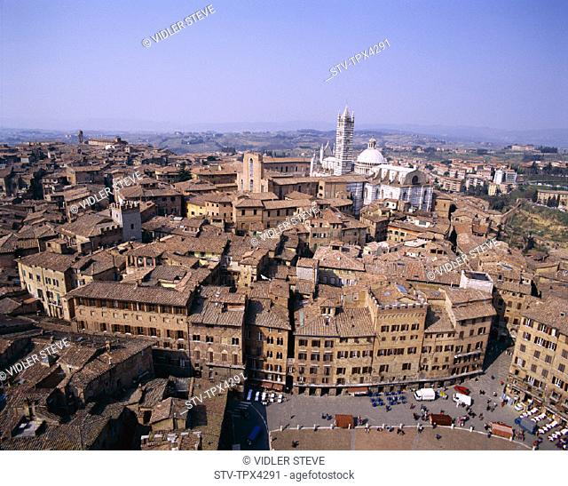 Del, From, Heritage, Holiday, Italy, Europe, Landmark, Mangia, Piazza del campo, Siena, Torre, Toscana, Tourism, Travel, Tuscany