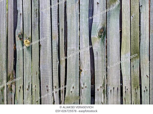 Old weathered textured wooden planks. Wooden surface