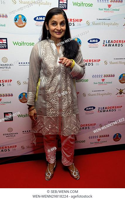 GG2 Leadership Awards - Arrivals Featuring: Sudha Buhcatar Where: London, United Kingdom When: 20 Oct 2016 Credit: Seb/WENN.com