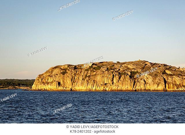 Rocks, Grebbestad, bohuslan region, west coast, Sweden