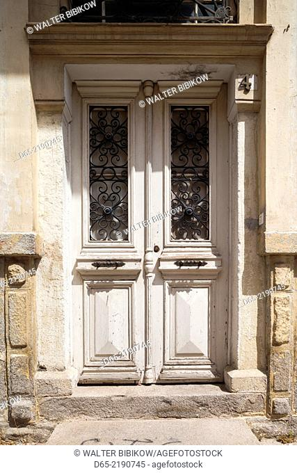 Greece, East Macedonia and Thrace Region, Xanthi, Ottaman-era house in Old Xanthi