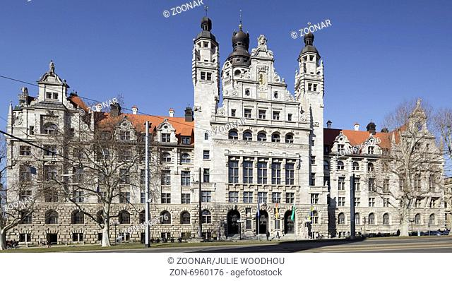 New Town Hall, Leipzig
