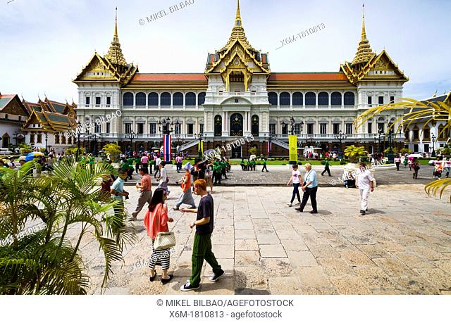 Phra Thinang Chakri Maha Prasat buildings  Grand Palace  Bangkok, Thailand