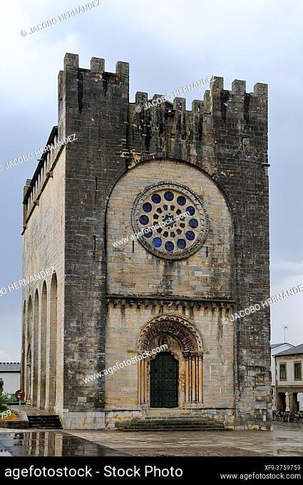 Romanesque church of San Nicolás. Portomarín. Camino de Santiago. Lugo province. Galicia. Spain