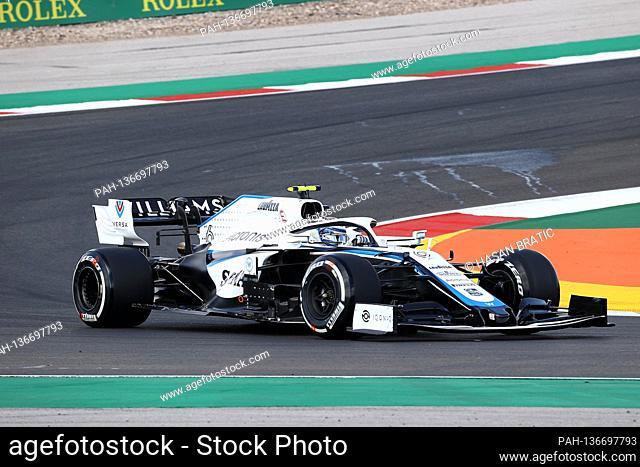 23.10.2020, Autódromo Internacional do Algarve, Portimao, FORMULA 1 HEINEKEN PORTUGUESE GRAND PRIX 2020, in the picture Nicholas Latifi (CAN # 6)