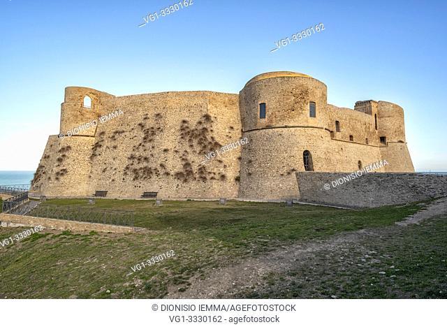 Ortona, district of Chieti, Abruzzo, Italy, Europe, Aragonese castle