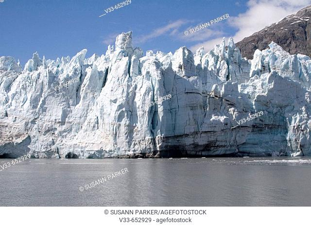 Majorie Glacier in Glacier Bay National Park in Alaska, USA