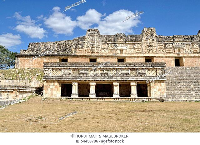Cuadrangulo de las Monjas, Nun's Quadrangle, ancient Mayan city of Uxmal, Yucatan, Mexico