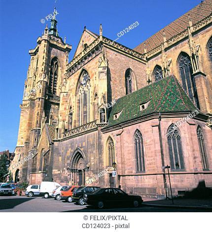 St. Martin Church. Colmar. France