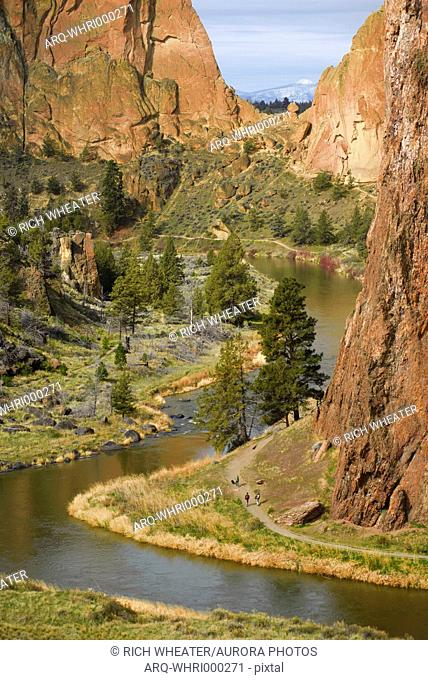 Smith Rock State Park Stock Photos And Images Agefotostock