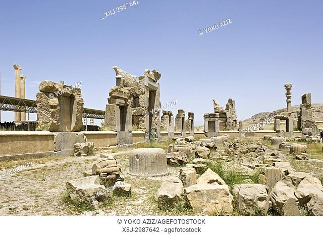 Iran, Persepolis archaeological site