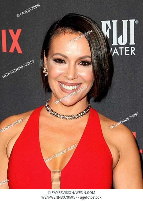 The Weinstein Company And Netflix Golden Globes Party Featuring: Alyssa Milano Where: Beverly Hills, California, United States When: 08 Jan 2017 Credit:...