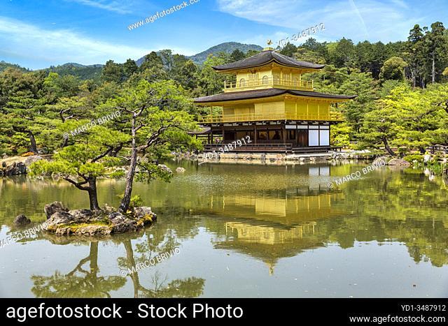Kyoto Japan. Kinkaku-ji Temple (the Golden Pavilion)