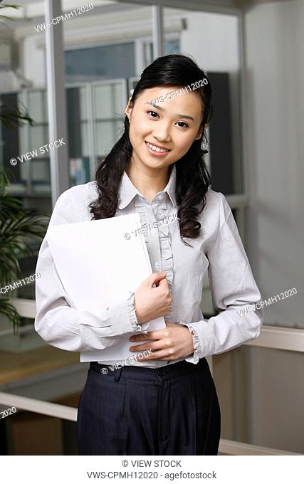 Oriental business woman,China