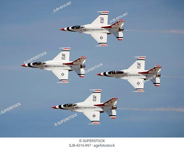 US Air Force Thunderbird Demonstration Team