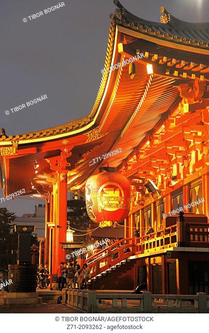 Japan, Tokyo, Asakusa, Sensoji Temple,